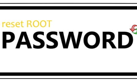 How to reset root password on CentOS